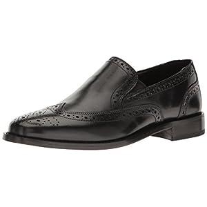 Nunn Bush Men's Norris Wingtip Slip-On Loafer