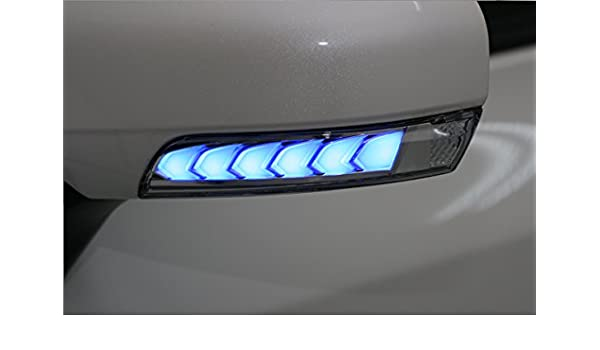 Amazon com: Turn Signal Light LED DRL Blue for Toyota Prius