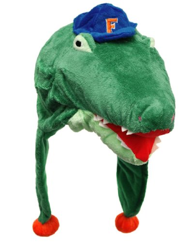 NCAA Florida Gators Thematic Mascot Dangle Hat