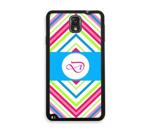 Cevron Test D Monogram Samsung Galaxy Note 3 Note III Case - Fits Samsung Galaxy Note 3 Note III