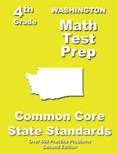 Washington 4th Grade Math Test Prep: Common Core Learning Standards