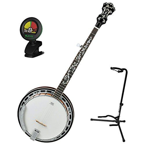 Ibanez B200 5-String Banjo Natural Closed Back w/ Tuner for sale  Delivered anywhere in USA