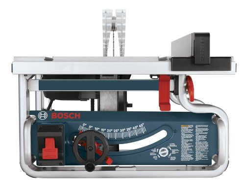 Bosch 10 inch portable jobsite table saw gts1031 with import it all Bosch portable table saw