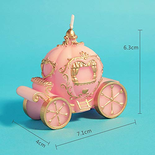 Candle Decor - Romantic Creative Pumpkin Car Art Candle Small Gift 39 S Day - Table Aromatherapy Candl Flower Sheets Candle Fireplace Decor Halloween Christmas Sleeves Home Bath Lantern -