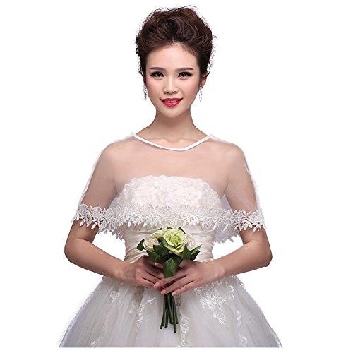 ace Appliques Shrug Wedding Shawl Wrap Stole Bolero Jacket Coat (Model-01) (Satin Wedding Bridal Bolero)