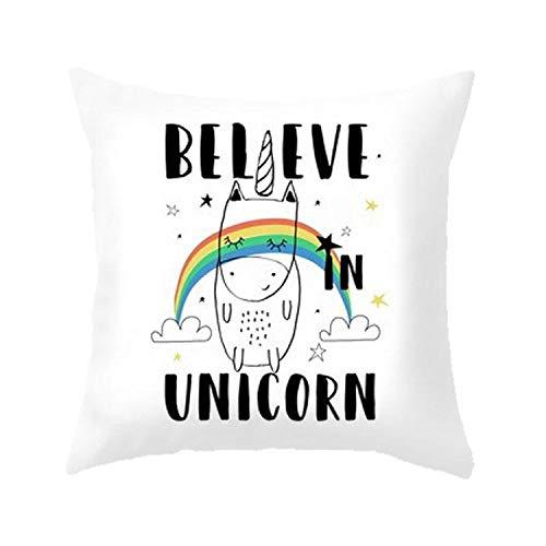 Letter Love Black Kids Cushion Little Adventure Bear Dog Unicorn Pillow Dream Big Wild Free Cushions Funny (Corset Dream)