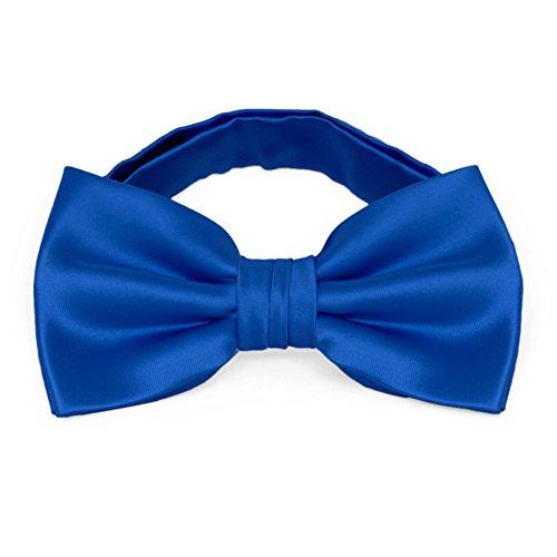 TieMart Horizon Blue Premium Bow Tie ()
