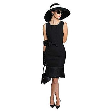 Juego, vestido, gorro, bufanda, guantes, pendientes y accesorios Audrey Hepburn Premium