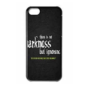 iPhone 5c Cell Phone Case Black quotes sayings 8 FY1560421