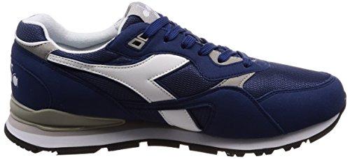 Diadora Men's N.92 Gymnastics Shoes, Blue, 7 Blue (Blu Estate)