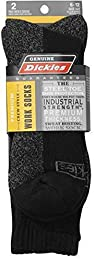 2-Pair Men's Premium Crew Style Shin Protector Work Socks - All Colors