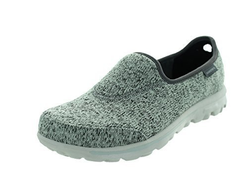 Skechers Women's GOwalk Stitch Slip On,Navy,US 7 M
