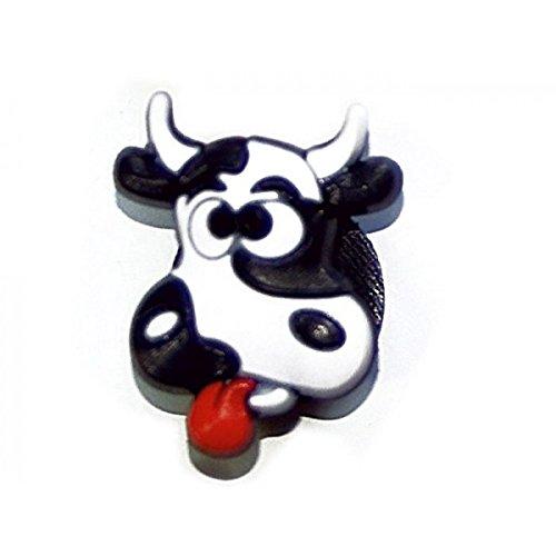 Pins pour sabot plastique compatible crocs Pinzz Vache folle