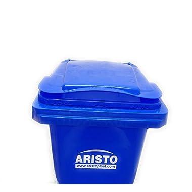 Aristo Wheel Garbage Waste Dustbin 120 Ltr (Blue) 14