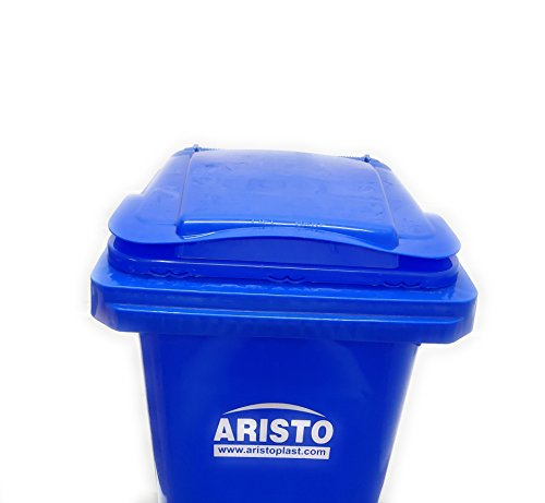 Aristo Wheel Garbage Waste Dustbin 120 Ltr (Blue) 7