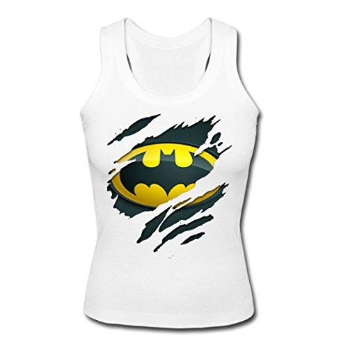 Batman+tank+top Products : AHHACHI Girls Womens Batman Logo Tank Top