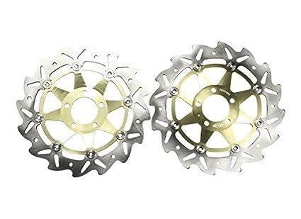 2 PCS de motor de rueda Sport Racing freno rotor disco Fit ...
