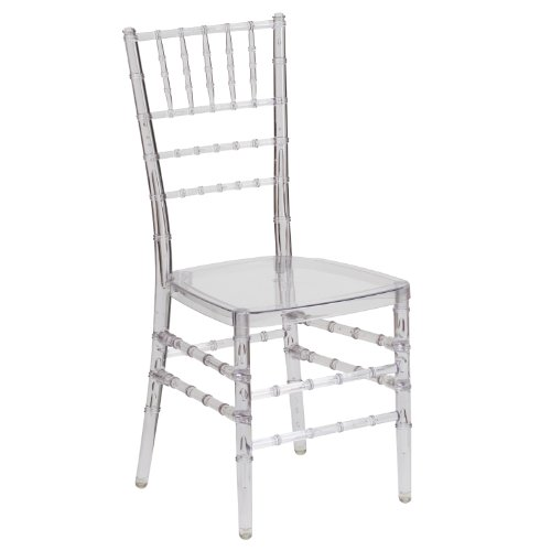 (Flash Furniture Flash Elegance Crystal Ice Stacking Chiavari Chair)