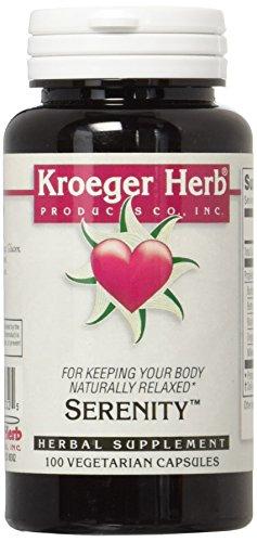 Kroeger Herb Serenity Vegetarian Capsules, 100 Count