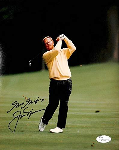 Autographed Jack Nicklaus Photograph - 8x10#U74961 - JSA Certified - Autographed Golf ()