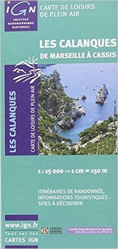 Lire des livres en téléchargement gratuit 82011 LES CALANQUES DE MARSEILLE A CASSIS  1/15.000 2758511568