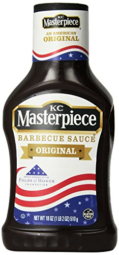 (KC Masterpiece, Original Barbecue Sauce, 18oz Bottle (Pack of 3) )