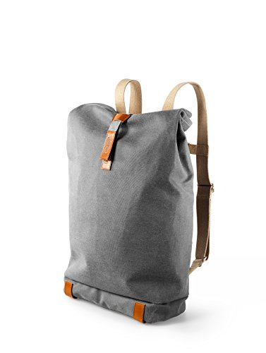 Brooks England Pickwick Day Pack, Grey/Honey, Small/12 L by Brooks