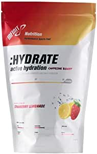 INFINIT Nutrition :Hydrate-Low Cal Caffeinated Hydration Drink Mix, Rapid Rehydration, Beta-Alanine - Strawberry Lemonade