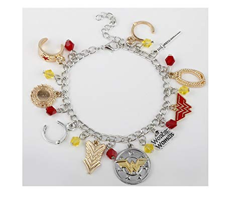 Ivy & Clover Movie Entertainment TV Jewelry Collection (Wonder Woman ()