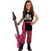 Forum Novelties Rock Star Girl Child Costume, Small