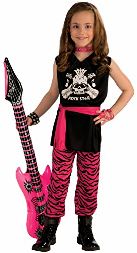Rock Girl Costume (Forum Novelties Rock Star Girl Child Costume,)