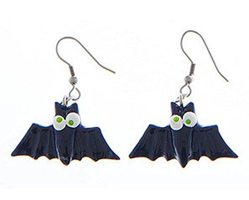 Eeery-Sistable Earrings: Vampire Bats - By Ganz ()