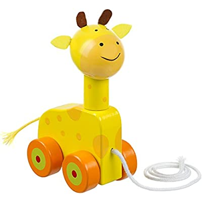 Orange Tree Toys Pull Along Giraffe : Baby