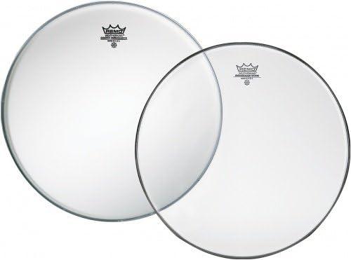 "Remo 12/"" Clear Ambassador Batter Drumhead"