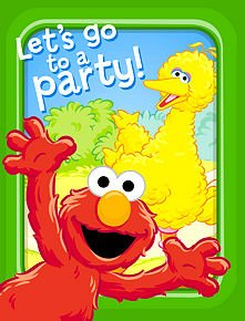 American Greetings Sesame Street 'Sunny Days' Invitations and Thank You Notes w/ Env. (8ct ea.)