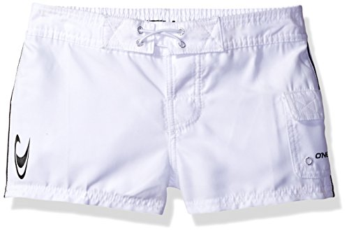 Girl's O'Neill Cowell Board Shorts, Size 7 - White