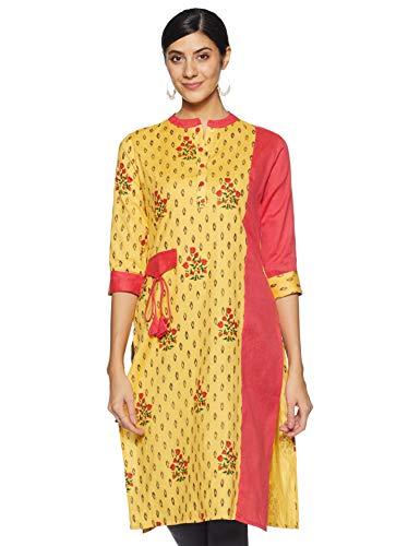 Prakhya Women's Cotton Straight Kurta
