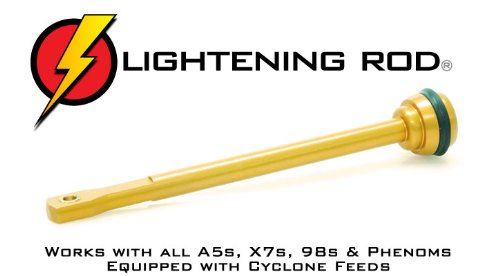 Cyclone Feed Ratchet - TechT Lightening Rod Upgrade for All Tippmann A5s, X7s, 98s, and Phenoms Equipped with Cyclone Feeds