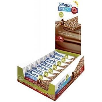 Bimanan - BIMANAN SIN GLUTEN CHOCOLATE CON LECHE 15 U.+ 5U ...