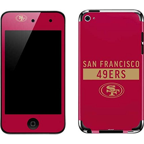 (Skinit NFL San Francisco 49ers iPod Touch (4th Gen) Skin - San Francisco 49ers Red Performance Series Design - Ultra Thin, Lightweight Vinyl Decal Protection)