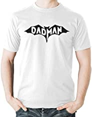 Witty Fashions Dadman Super Bat Hero Funny Gift for Dad Fathers Day Men's T-S