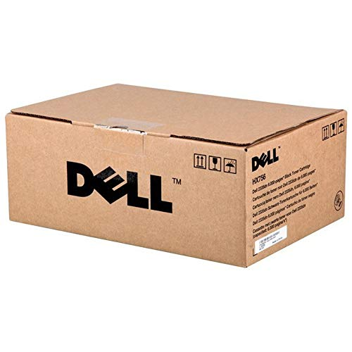 Dell Toner HX756 / R189G Black Toner Cartridge 2335dn / 2355dn Laser Printers 6000 Pages ()