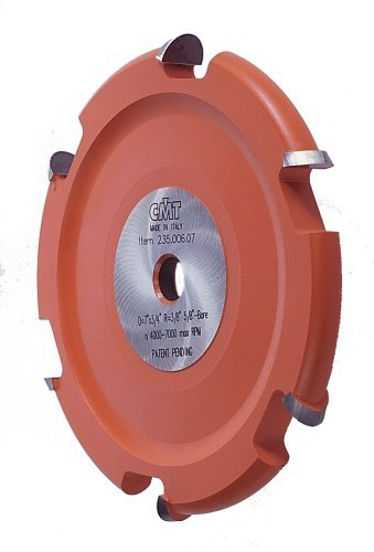 CMT 235.006.07 Cove Cutter Head For 800.523.11 Crown Molding Set, 5/8-Inch Bore For Table - Molding Cutter Head