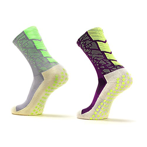 YF Unsex Sport Socks 3 Packs Athletic Training Socks Football Socks for Outdoor Sports,Running,Hiking,Tennis by YF