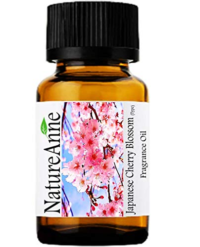 Japanese Cherry Blossom (Type) Premium Grade Fragrance Oil - 10ml - Scented Oil - for Diffuser Oils, Making Soap, Candles, Lotion, Home Scents, Linen Spray, Lotion, Perfume, Beard ()