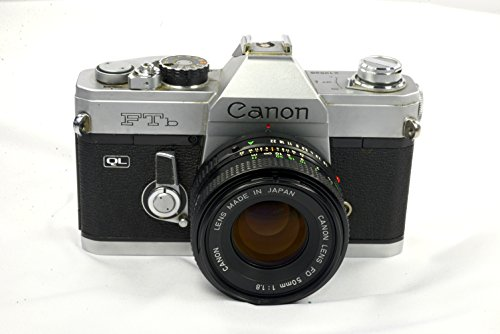 Canon TL QL 35mm SLR Professional Vintage Film Camera with Lens
