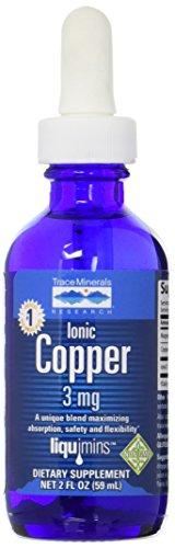 Trace Minerals Liquid Ionic Copper Supplement, 2 Ounce