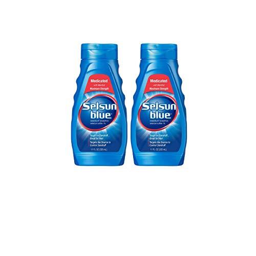 (Selsun Blue Medicated Dandruff Shampoo 11-Ounce Bottles (2 Count))