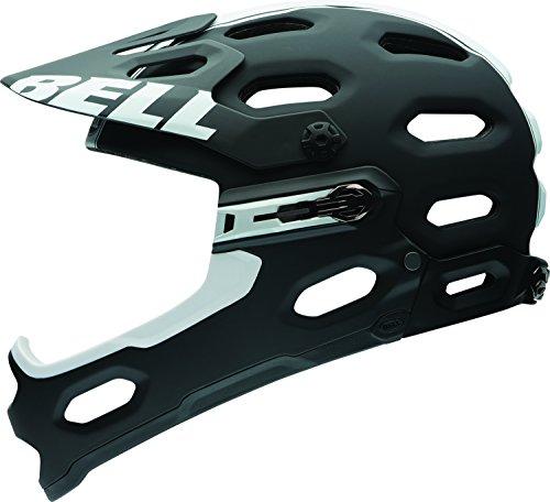 Bell Super 2R MIPS Equipped Bike Helmet - Matte Black/White Small