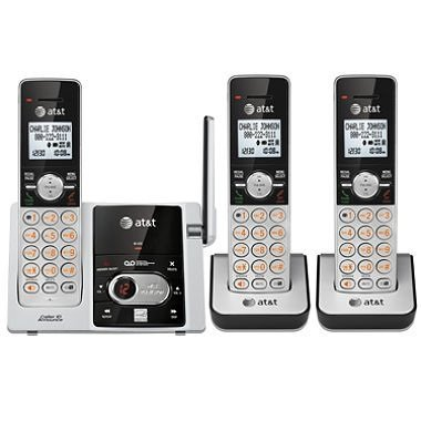AT&T 3 Handset Answering System with Caller ID/Call Waiting CL82353 by AT&T